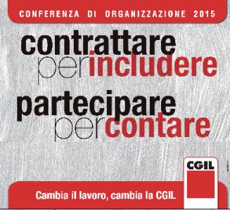 CGIL conferenza di organizzazione 2015
